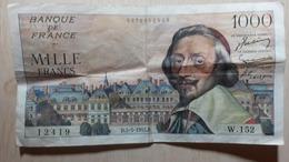 Billet 1000F Richelieu 1955 - Other