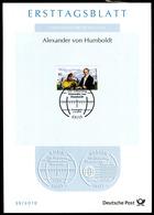 BRD - 2019 ETB 39/2019 - Mi 3492 - 80C      Alexander Von Humboldt - BRD
