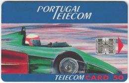 PORTUGAL B-106 Chip Telecom - Sport, Motor Race - Used - Portugal