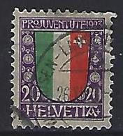 """Switzerland 1923 """"Pro Juventute"""" (o)  Mi.187 - Pro Juventute"""
