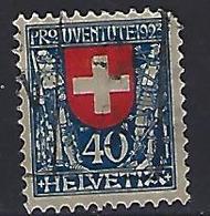 """Switzerland 1923 """"Pro Juventute"""" (o)  Mi.188 - Pro Juventute"""