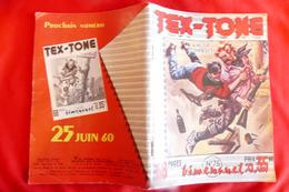 TEX-TONE (bimensuel N°75) Année 1960 ***** BHR 009X - Magazines Et Périodiques