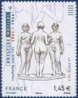 0634  Adhésif  Les 3 Nymphes D'Aristide Maillol Neuf  **  PRO - Adhésifs (autocollants)