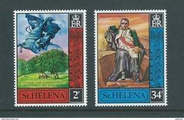 St Helena 1971 Napoleon Exile Set Of 2 MNH - Saint Helena Island