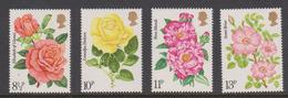 Great Britain 1976 Roses Mint Never Hinged, - 1952-.... (Elizabeth II)
