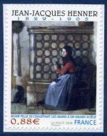 0223  Oeuvre De Jean-Jacques Henner (4286) Neuf **  2008 Adhésif + - Autoadesivi
