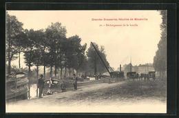 CPA Maxéville, Déchargement De La Houille - Non Classificati