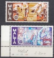 MALTA - 1976 - Serie Completa Nuova MNH Composta Da 2 Valori: Yvert 527/528. - Malta