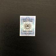 Myanmar Commercial Tax Sticker 1x 5000 Kyats A Series - Myanmar (Burma 1948-...)