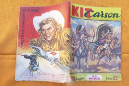KIT CARSON (Bimensuel N°96) Annér 1960 **** BHR 015X - Magazines Et Périodiques