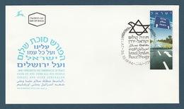 Jordan - 1944 - Rare - FDC - ( Jordan-Israel Peace Treaty  ) - Jordanie
