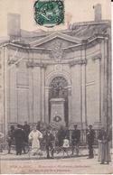 55 BAR-LE-DUC - Monument Michaux, INVENTEUR Du VÉLOCIPÈDE à PÉDALES - Très Animée, Cycles, Cyclistes - Bar Le Duc