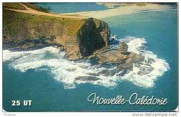 Nouvelle Caledonie Caledonia Telecarte NC95 Bonhomme Bourail Roche Percee Ut., Côte 5 Euros, TBE - Nieuw-Caledonië
