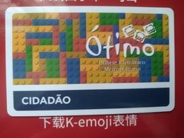 Brazil Transport Cards,  (1pcs) - Brésil