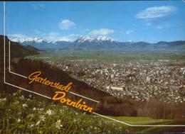 Osterreich - Postcard Unused - Dornbirn With Rhine Valley And Säntis - Dornbirn
