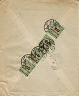 24-11-23 - Cover From Köln To Grasse ( France ) Back Franking80 Milliarden Marks - Cartas