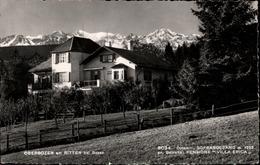 ! Alte Fotokarte, Pensione Villa Erica, Oberbozen Am Ritten Bei Bozen, Soprabolzano, Alpen, Verlag Foto Fränzl, Bozen - Bolzano (Bozen)