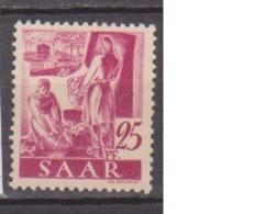 SARRE              N° YVERT   206       NEUF SANS CHARNIERES  ( Nsch 02/03 ) - 1947-56 Gealieerde Bezetting