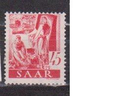 SARRE              N° YVERT   209       NEUF SANS CHARNIERES  ( Nsch 02/03 ) - 1947-56 Gealieerde Bezetting