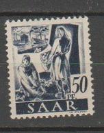 SARRE              N° YVERT   210      NEUF SANS CHARNIERES  ( Nsch 02/03 ) - 1947-56 Gealieerde Bezetting
