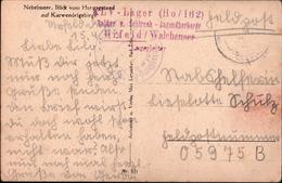 ! 1943 Urfeld Am Walchensee, Bayern, Stempel KLV Lager HO/162, Kinderlandverschickung, Feldpost - Briefe U. Dokumente