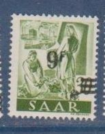 SARRE              N° YVERT   224      NEUF SANS CHARNIERES  ( Nsch 02/03 ) - 1947-56 Gealieerde Bezetting
