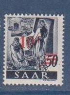 SARRE              N° YVERT   225      NEUF SANS CHARNIERES  ( Nsch 02/03 ) - 1947-56 Gealieerde Bezetting