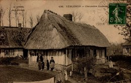 76-YEBLERON...CHAUMIERE NORMANDE   ..CPA ANIMEE - Other Municipalities