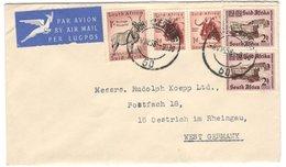 21823 - Par Avion Pour L'Allemagne - South Africa (...-1961)