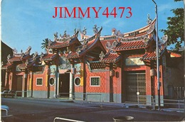 CPM - PENANG Malaysia - KUAN YIN CHINESE TEMPLE 1966 - Texte Et Timbre écrit En Chinois - Malaysia