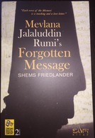 Mevlana Jalaluddin Rumi's Forgotten Message Mawlana Sufism Shems  Sufism Islam - Boeken, Tijdschriften, Stripverhalen