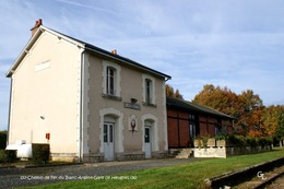 Chemin De Fer Du Blanc-Argent (36)- Gare De Heugnes (Edition à Tirage Limité) - Matériel