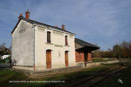 Chemin De Fer Du Blanc-Argent (36)- Gare De Pellevoisin (Edition à Tirage Limité) - Matériel