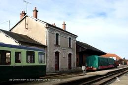 Chemin De Fer Du Blanc-Argent (36)- Gare D'Ecueillé (Edition à Tirage Limité) - Matériel