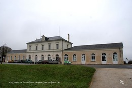 Chemin De Fer Du Blanc-Argent (36)- Gare Du Blanc (Edition à Tirage Limité) - Matériel