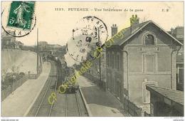 92. PUTEAUX . Vue Intérieure De La Gare . - Puteaux