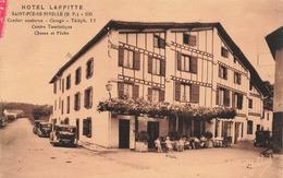 64 Saint Pee En Nivelle Hotel Laffitte Vieille Voiture Auto Automobile - France