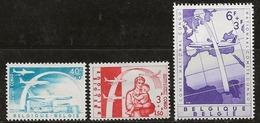 Belgique 1960 N° Y&T :   1147 Et 1148 * Et 1149 ** - Ongebruikt