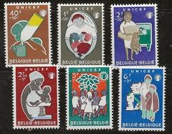 Belgique 1960 N° Y&T :   1153 à 1158 ** - Ongebruikt