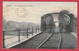 Namur - Passerelle Du Tram Sur La Sambre ... Belle Animation -1921 ( Voir Verso ) - Namen