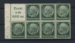 DEUTSCHES REICH 1940 ZD Nr HBl.96 Postfrisch (117965) - Zusammendrucke
