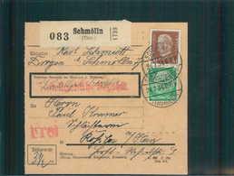 Paketkarte 1934 SCHMOELLN Siehe Beschreibung (202485) - Deutschland