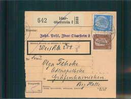 Paketkarte 1935 IDAR-OBERSTEIN Siehe Beschreibung (202481) - Deutschland
