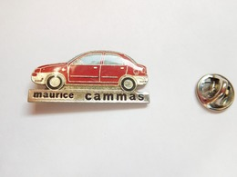 Beau Pin's , Auto Nissan , Maurice Cammas - Pin's