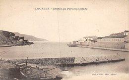 A-19-3827 : LA CALLE. LE PORT ET LE PHARE. - Algeria