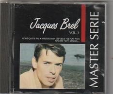 CD JACQUES BREL  Master Serie Vol 1    Etat: TTB Port 110 GR - Musique & Instruments