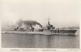 Rare Cpa Navire De Guerre Le Mameluk - 1939-45