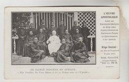 CPA OUGANDA RELIGION - Le Clergé Indigène, Mgr STREICHER Des Pères Blancs Et 14 Prêtres Indigènes - Ouganda