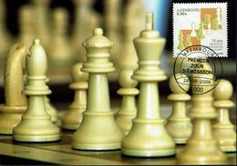 Luxemburg - Luxembourg 2006 - MiNr 1715 - Schach Chess Ajedrez échecs - MK - Schach