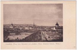 Canaletto. Wien Vom Belvedere Aus Gesehen (Kais. Gemälde-Galerie, Wien) - Belvedère